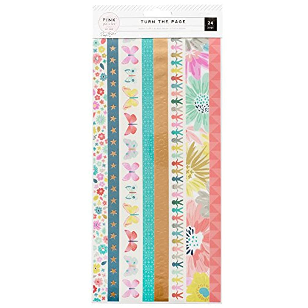 American Crafts Paige Evans Turn The Page 3 Sheet Washi Booklet