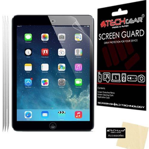 TECHGEAR [3 Pack] Screen Protectors for iPad Air 9.7', iPad Air 2, iPad Pro 9.7' - Clear Lcd Screen Protectors Compatible with Apple iPad Air, iPad Air 2, iPad Pro 9.7'