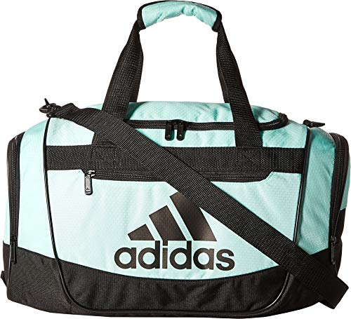 adidas Defender III Small Duffel, Clear Mint/Black, Small