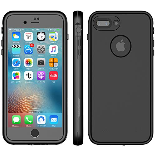 LOVE BEIDI iPhone 8 Plus & 7 Plus Waterproof Case - Underwater Snowproof Dirtproof Shockproof Cover