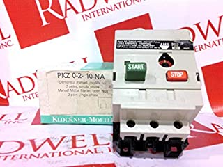 KLOCKNER MOELLER PKZ-0-2-10.0-NA Manual Motor Starter 6-10AMP 2POLE 240VAC 3HP 60HZ