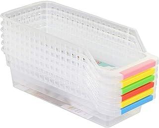 llllsto0re Refrigerator Durable Storage Organizer Fruit Handled Kitchen Collecting Box Basket Rack Stand Basket Container ...