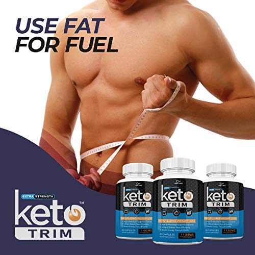 Keto Trim Pills - Fat Utlizing Weight Loss - Limitless Labs - 1100MG - 180 Capsules - 90 Day Supply 4