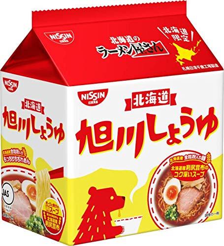 日清北海道のラーメン屋さん 旭川しょうゆ (北海道限定) 5食×6袋