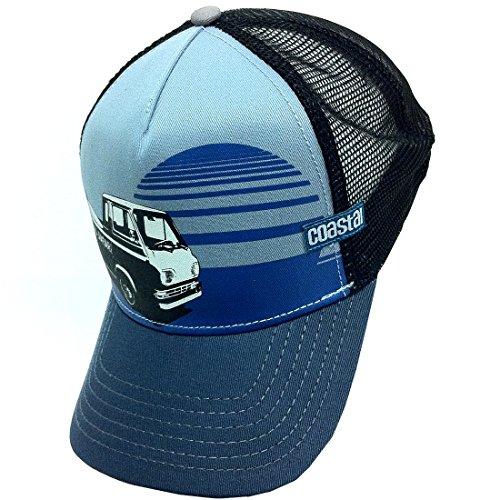 Coastal - Surf Safari (Black/Slate) - High Fitted Trucker Cap
