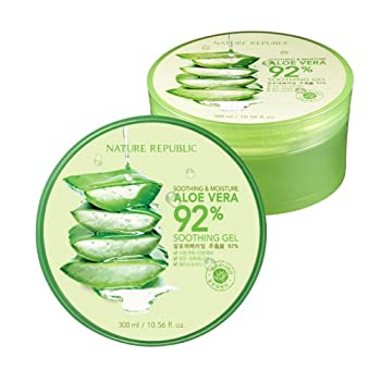 Nature Republic 2 PCS Aloe Vera Soothing Gel 92% Soothing and Moisture 300ml NS17-G