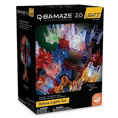 MindWare Q-BA-Maze 2.0 Lights: (Deluxe Set)