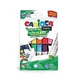 Carioca TEMPERELLO Textil   42324 - Témperas Solidas en Barra para Tejido/Tela, 10 Colores