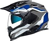 Casco Moto Fibra