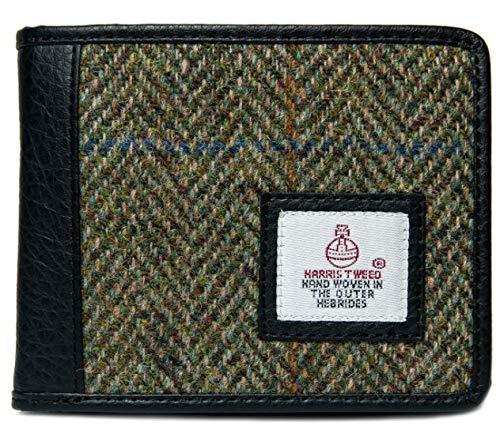 Real Harris Tweed Schottland Fischgrätenmuster, dreifach gefaltet, in 2 Farben erhältlich, in...