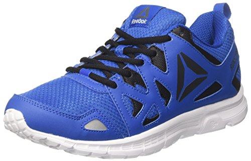 Reebok Run Supreme 3.0, Scarpe Indoor Multisport Uomo, Blu (Awesome Blue/Lead/White), 40 EU