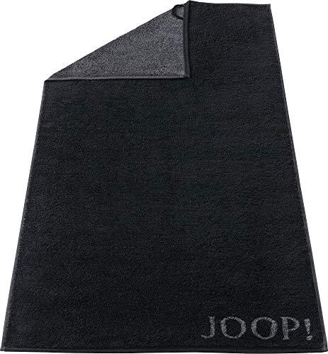 Joop Classic - Doubleface 1600 - Handtuch Fb. 97- schwarz 50 x 100 cm
