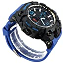 Mens Military Analog Digital Watch Army Sports Watches Multifunctional Large Face Wrist Watches for Men (Dark Blue)Mens Military Analog Digital Watch Army ...