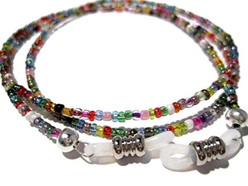 Glasses Chain - 32 Colors Beaded Eyeglass Holder - Eyeglass Around Neck - Sunglass Strap - Glasses Necklace
