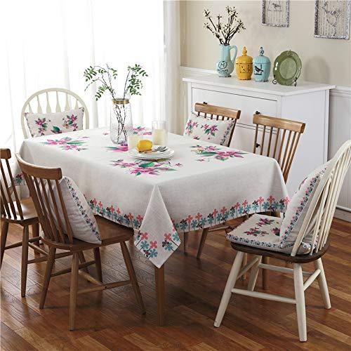 LIUJIU Mantel simple y elegante con borla de algodón y lino, lavable cuadrado gris a prueba de polvo, cubierta de mesa para decoración de mesa de comedor de cocina, 42 x 40 cm