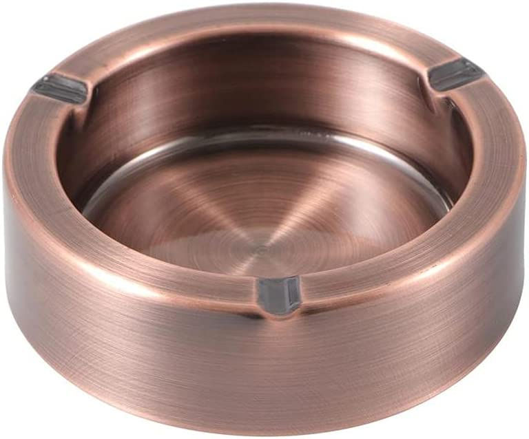 WJCCY Stainless Steel Ashtray Creative Ranking TOP13 Max 49% OFF Ashtr Anti Thickened Fall