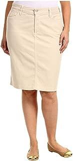 Jack David Sexy Womens Plus Size Stretch Denim Jeans Casual Twill Cotton Skirt Modern Series