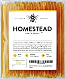 Homestead Honey Sticks, All Natural and Pure American Honey Stix Made with Real Clover Honey (50...
