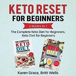 Keto Reset for Beginners, 2 Books in 1 cover art