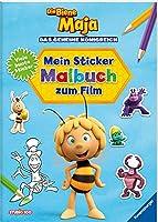 Die Biene Maja: Mein buntes Sticker-Malbuch