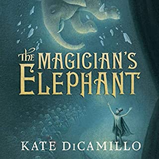 The Magician's Elephant audiobook cover art