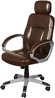 The One Viceroy Ejecutivo Silla de Oficina marrón 2 Tono – Cuero Marrón Silla de Oficina