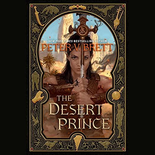 The Desert Prince Audiobook By Peter V. Brett cover art
