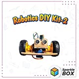 Easy-to-build robot cars with sensors to control actuators. Fun and engaging activity involving coding to build DIY robots. Hands-on experience in building 6 different types of robots. No soldering required, appropriate for age 9 years and above. Eng...