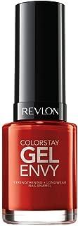 Revlon Colorstay Gel Envy Longwear Nail Enamel, All On Red, 0.4 Fl Oz (1 Count)