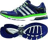 adidas Adistar Boost M ESM - Zapatillas para Hombre, Color Azul/Blanco/Verde, Talla 49 1/3