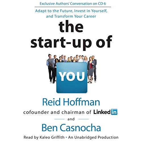 The Start-Up of You audiobook cover art
