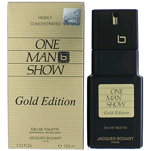 Jacques Bogart One Man Show Eau de Toilette Zerstäuber für Männer, Gold Ausgabe, 100 ml