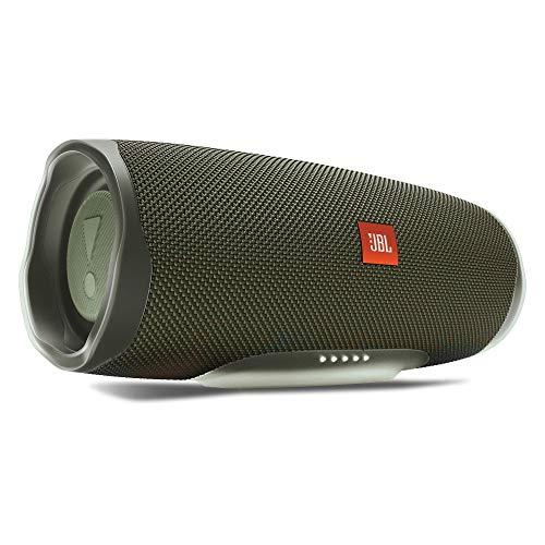 JBL Charge 4 30 W Mono Portable Speaker Verde - Altavoces portátiles (1.0 Canales, 90 x 50 mm, 30 W, 60-20000 Hz, 80 dB, Inalámbrico)