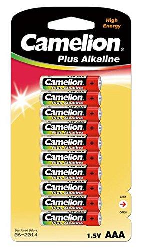 Camelion 11001003 Plus Alkaline Batterie (LR03, Micro, AAA, 10er)
