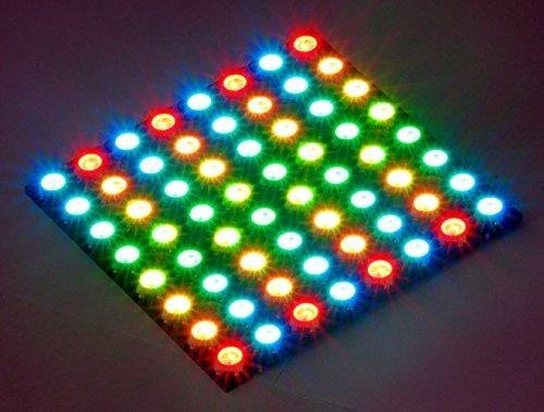 Panel digital de punto 8x8 HD 64 x WS2812B LED