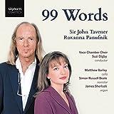 Tavener/Panufnik: 99 Words