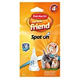Bob Martin | Spot On Flea Treatment for Small Pets (Rabbits, Hamsters & Guinea Pigs) | Protection Against Fleas, Ticks, Lice & Mites (1 Pipette)