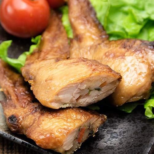新潟県産鶏の手羽先餃子 5パック入り 冷凍総菜 湯煎調理 株式会社鳥よし食材