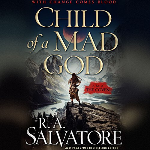 Child of a Mad God audiobook cover art