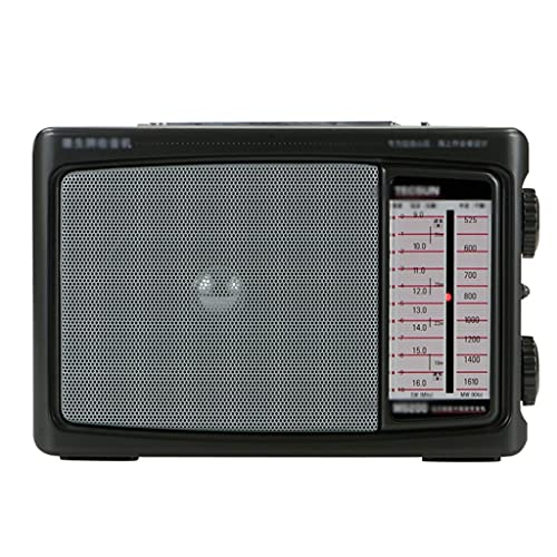 KDLK Radio MW/SW Banda de Radio Receptor de Radio Conversión Dual Radio de Audio portátil Receptor portátil Radio FM