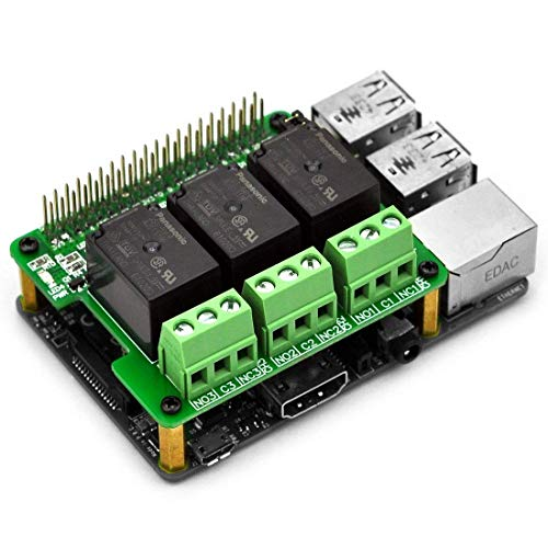 Electronics-Salon RPi Power Relay Board Expansion Module für Raspberry Pi A+ B+ 2B 3B