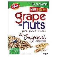 ブドウナットカリカリ小麦&大麦麦芽を580グラム (x 4) - Grape-Nuts Crunchy Wheat & Malted Barley 580g (Pack of 4) [並行輸入品]
