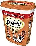 Dreamies Katzensnacks Katzenleckerli MegaBox mit Huhn