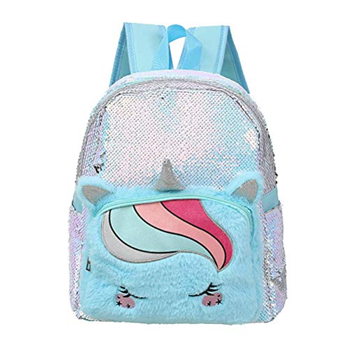 Jellycat rabbit grey niffler keyring cxjff Unicorn Sequin Backpack, Cute Unicorn Children Backpack Cartoon Multi-Pocket Backpack Plush Girl Backpack for Kids and Teens, Pink The goods are usually iss