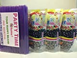 3 Packs of BOBA (Black) Tapioca Pearl 'Bubble Tea Ingredients' With additonal 1 Pack of 50 BOBA...