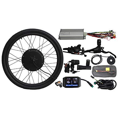 HalloMotor 36V 48V 1000W 20' 24' 26' 27.5' 28' 29er 700C Rear Wheel ebike Electric Bicycle Conversion Kits with 750C colour Display (29er)