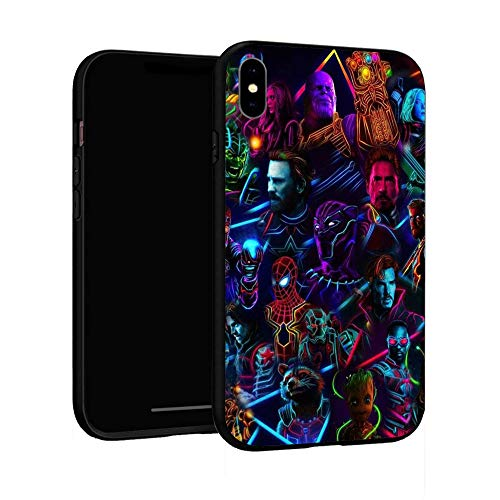 N / A iPhone XR Case,Basic Case Plastic Cover for iPhone XR (Avengers-3)
