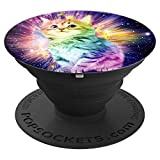 Best cool cat unicorn Popsocket gift - PopSockets Grip and Stand for Phones and Tablets
