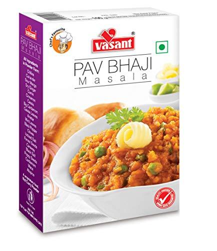 VASANT Ready Mix Pav Bhaji Masala 100% Pure & Hygiene Masala 100gm