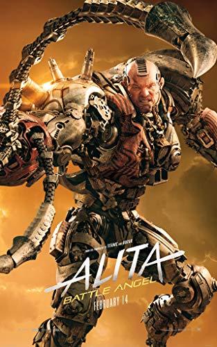 newhorizon Filmposter Alita Battle Angel, 43,2 x 68,6 cm, keine DVD